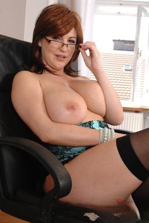 BBW Mature Cum On Tits Pics